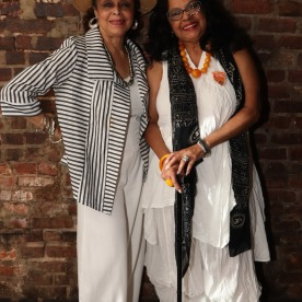 Marie Thomas and Lynda Gravatt. Photo by Lia Chang