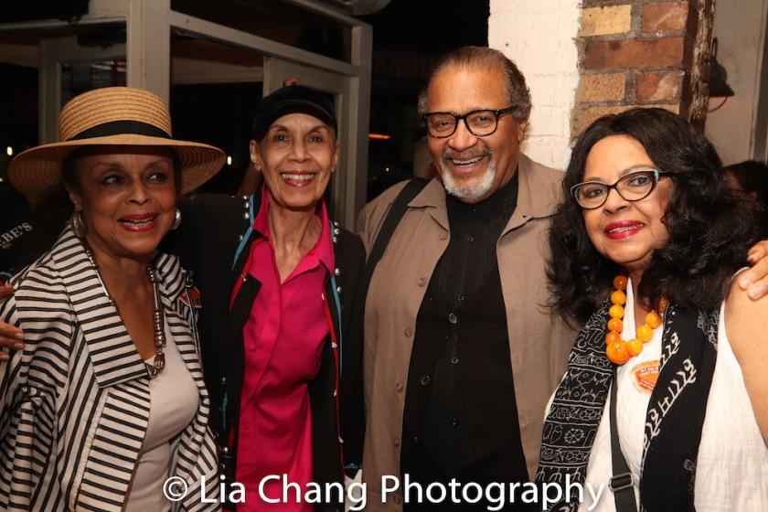 Marie Thomas, Carmen de Lavallade, Count Stovall and Lynda Gravatt. Photo by Lia Chang