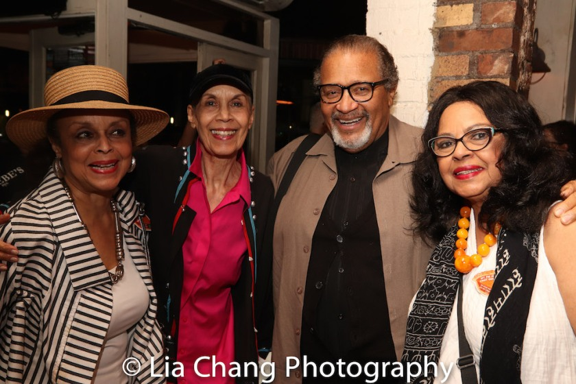 Marie Thomas, Carmen de Lavallade, Count Stovall and Lynda Gravatt. Photo by Lia Chang
