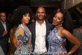 Nedra McClyde and Carl Cofield and Harriet D. Foy. Photo by Lia Chang