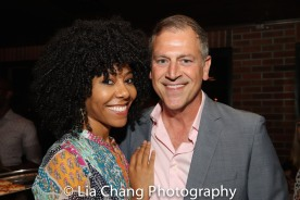Nedra McClyde and Tony Cloer. Photo by Lia Chang