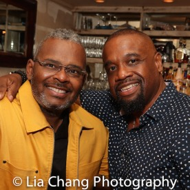 Ron Simons and Jbya Clarke. Photo by Lia Chang