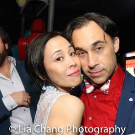 Mark Sanders, Lia Chang and Ryan Duncan. Photo by Garth Kravits