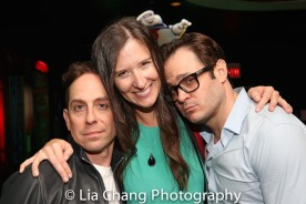 Garth Kravits, Stephanie Celustka and Mitchell Jarvis. Photo by Lia Chang