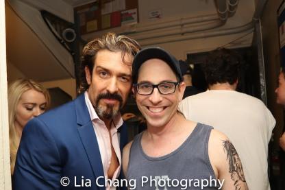 Brandon Williams and Garth Kravits. Photo by Lia Chang