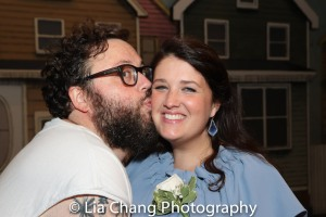 Jay Klaitz and his wife Courtney Maggart. Photo by Lia Chang