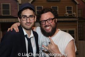 Michael Hirstreet and Jay Klaitz. Photo by Lia Chang