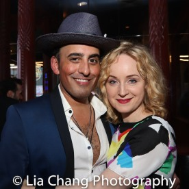 Nehal Joshi and Erin Davie. Photo by Lia Chang
