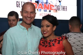 Patrick Eviston and J. Elaine Marcos. Photo by Lia Chang