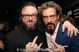Jay Klaitz and Brandon Williams. Photo by Lia Chang