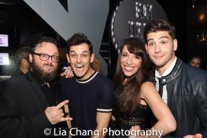 Jay Klaitz, Wesley Taylor, Ellyn Marsh and Adam Kaplan. Photo by Lia Chang