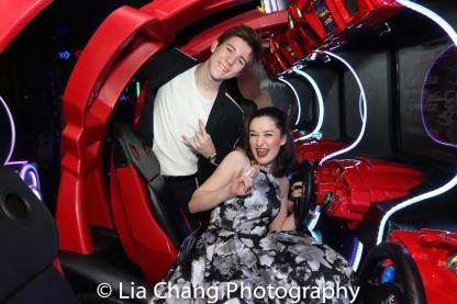 Sawyer Nunes and Noa Solorio. Photo by Lia Chang