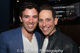 Jarrod Spector and Garth Kravits. Photo by Lia Chang