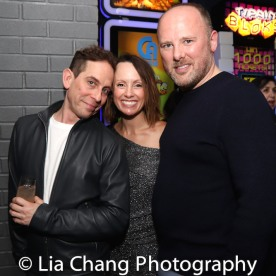 Garth Kravits, Sarah and Chris Bailey. Photo by Lia Chang