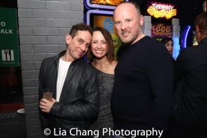 Garth Kravits, Sarah and Chris Bailey. Photo by Lia Chang