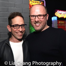 Garth Kravits and choreographer Chris Bailey. Photo by Lia Chang