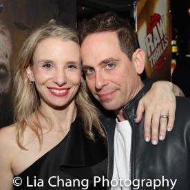 Sarah Saltzberg and Garth Kravits. Photo by Lia Chang