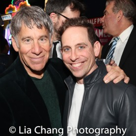 Stephen Schwartz and Garth Kravits. Photo by Lia Chang