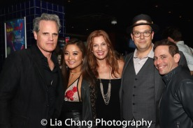 Michael Park, Ashley Park, Jessica Phillips, Tad Wilson and Garth Kravits. Photo by Lia Chang