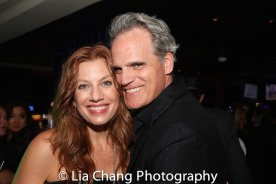 Jessica Phillips and Michael Park. Photo by Lia Chang