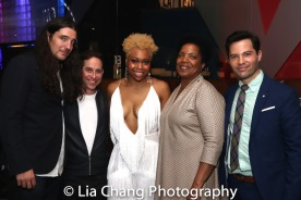 Garth Kravits, Tamika Lawrence and Jason Tam. Photo by Lia Chang
