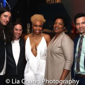 Garth Kravits, Tamika Lawrence and Jason Tam. Photo by Lia Chang