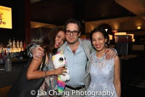 Jaygee Macapugay, Mitchell Jarvis and Lia Chang. Photo by Garth Kravits