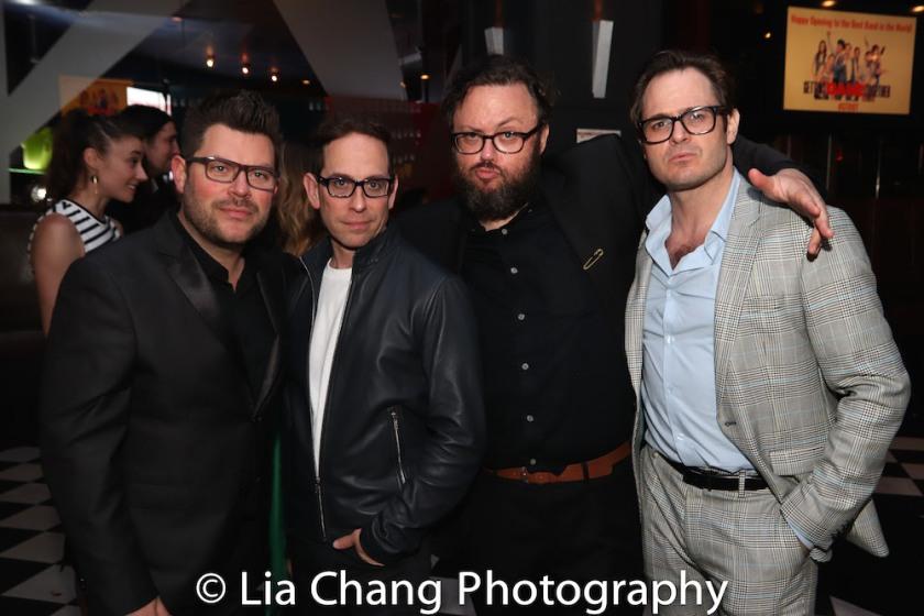 Sonny Paladino, Garth Kravits, Jay Klaitz and Mitchell Jarvis. Photo by Lia Chang