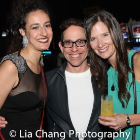 Stephanie Tomey, Garth Kravits and Stephanie Celustka. Photo by Lia Chang