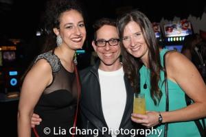 Stephanie Tomey, Garth Kravits and Stephanie Celustka. Photo by Lia Chang