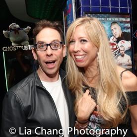 Garth Kravits and Emily McNamara. Photo by Lia Chang