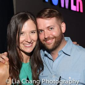 Stephanie Celustka and Bryan Graber. Photo by Lia Chang