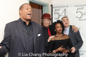 Tony Perry, Ken Page, Charlayne Woodard and Murray Horwitz. Photo by Lia Chang