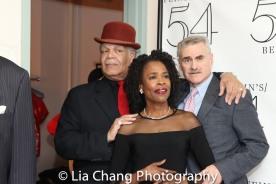 Ken Page, Charlayne Woodard and Murray Horwitz. Photo by Lia Chang