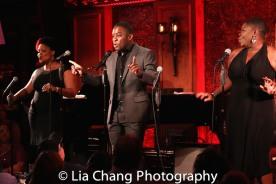Rheaume Crenshaw, Tyrone Davis, Jr., Johmaalya Adelekan. Photo by Lia Chang
