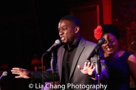 Tyrone Davis, Jr. and Rheaume Crenshaw. Photo by Lia Chang