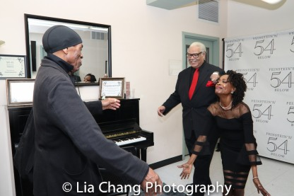 André De Shields, Ken Page and Charlayne Woodard. Photo by Lia Chang