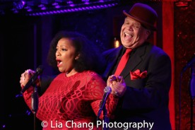 Frenchie Davis and Ken Page. Photo by Lia Chang