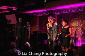 Tony Perry, Johmaalya Adelekan, Zurin Villeneuva, Tyrone Davis, Jr. and Rheaume Crenshaw. Photo by Lia Chang