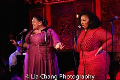 Cynthia Thomas and Frenchie Davis. Photo by Lia Chang