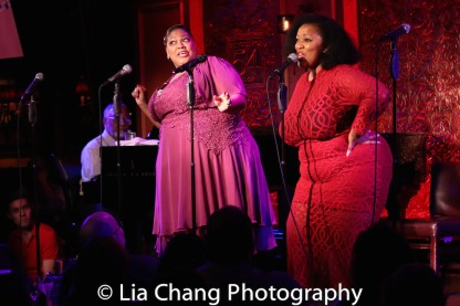 Cynthia Thomas and Frenchie Davis. Photo by Lia Chang