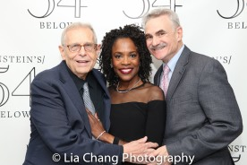 Richard Maltby, Jr., Charlayne Woodard and Murray Horwitz. Photo by Lia Chang