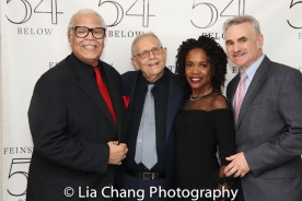 Ken Page, Richard Maltby, Jr., Charlayne Woodard and Murray Horwitz. Photo by Lia Chang