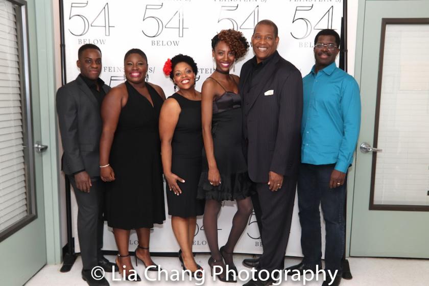 Tyrone Davis Jr., Johmaalya Adelekan, Rheaume Crenshaw, Zurin Villanueva Tony Perry, Marshall Jones III. Photo by Lia Chang