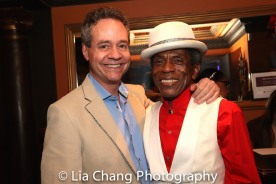 Mark Sendroff and André De Shields. Photo by Lia Chang