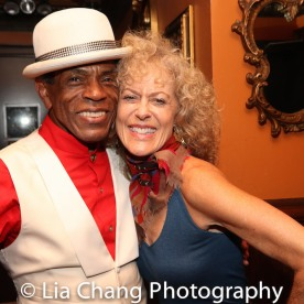 André De Shields and a guest. Photo by Lia Chang