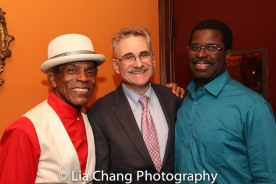 André De Shields, Murray Horwitz and Marshall Jones III. Photo by Lia Chang