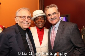 Richard Maltby, Jr., André De Shields and Murray Horwitz. Photo by Lia Chang