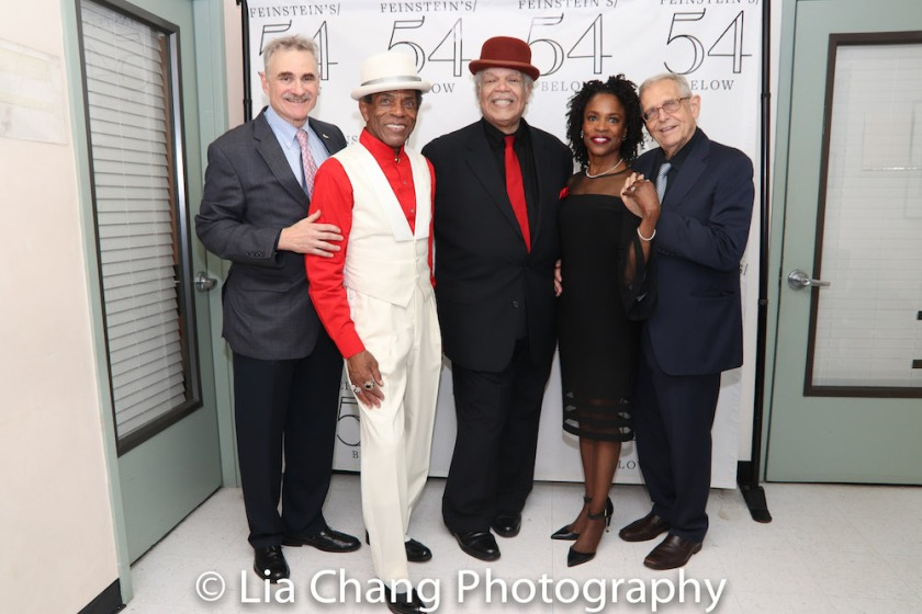 Murray Horwitz, André De Shields, Ken Page, Charlayne Woodard and Richard Maltby, Jr. Photo by Lia Chang