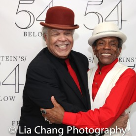 Ken Page and André De Shields. Photo by Lia Chang